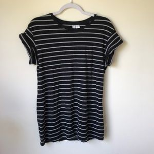 H&M Striped T-shirt Dress